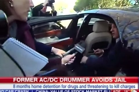 AC/DC drummer Phil Rudd back in jail — caught with prostitutes