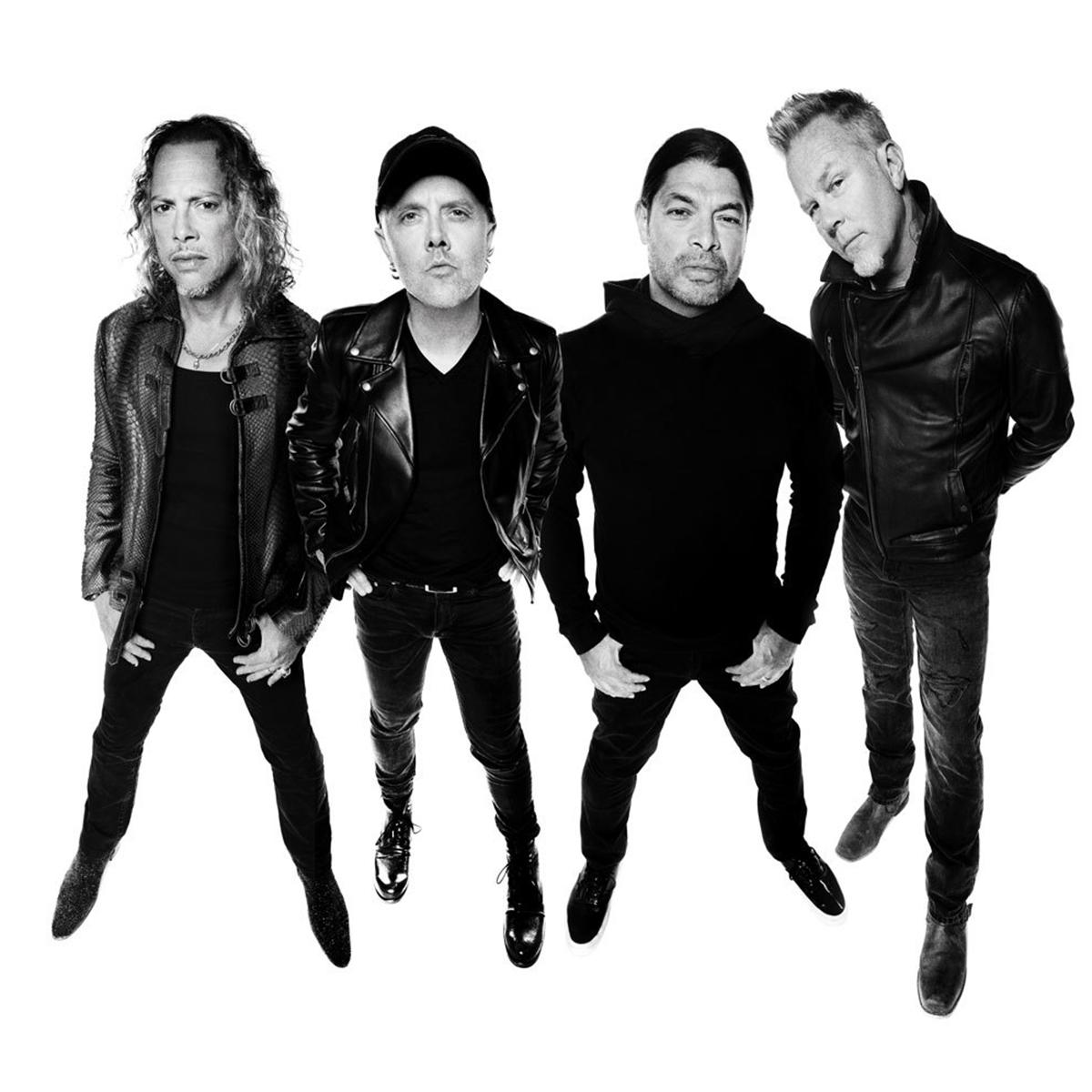 Metallica - Photo courtesy of BB Gun PR