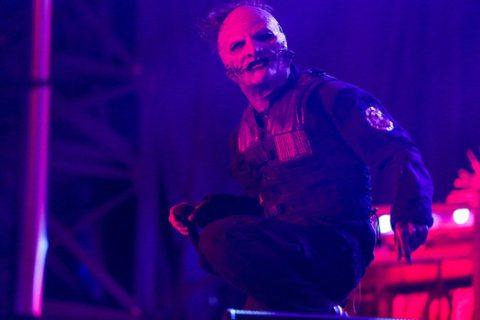 Slipknot plays the Aftershock Festival