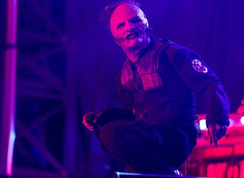 Slipknot plays the Aftershock Festival