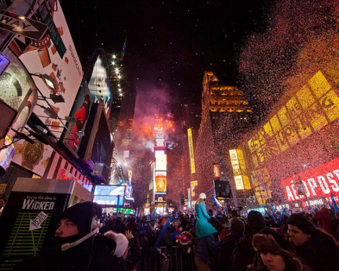 New Year's Eve - New York - Photo courtesy of Anthony Quintaneau