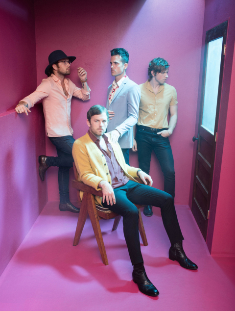 Kings of Leon - Photo courtesy of Jimmy Marble - Music in SF