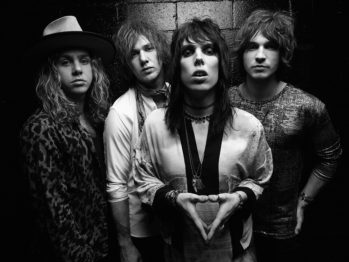 The Struts - Photo courtesy of Sacks and Co. PR - photo credit: Chris Cuffaro - Music in SF