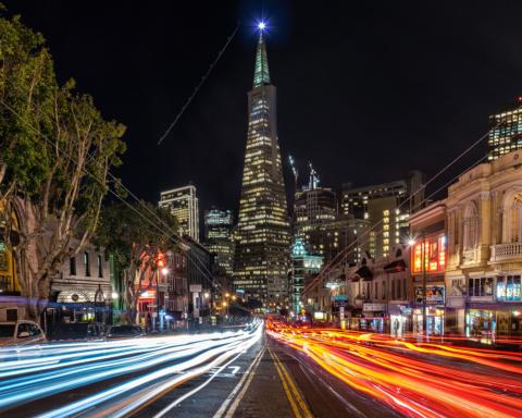 San Francisco North Beach - Photo by Louis Raphael