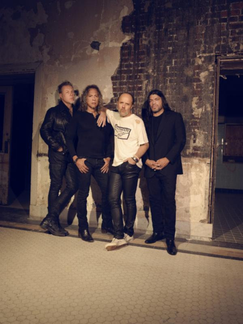 Metallica - Photos courtesy of BB Gun PR