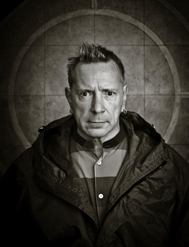 John Lydon - Photo by Paul Heartfield