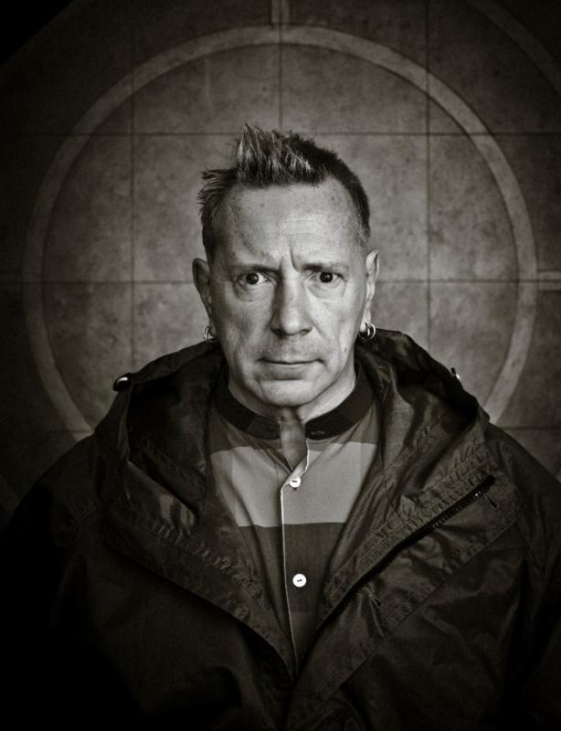 John Lydon - Photo by Paul Heartfield