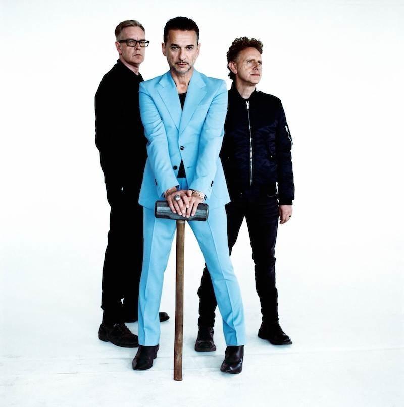 Depeche Mode - Photo courtesy of Live Nation / PR Newswire