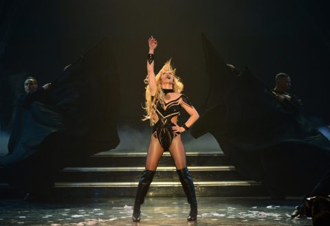 Britney Spears Performing at Planet Hollywood in Las Vegas
