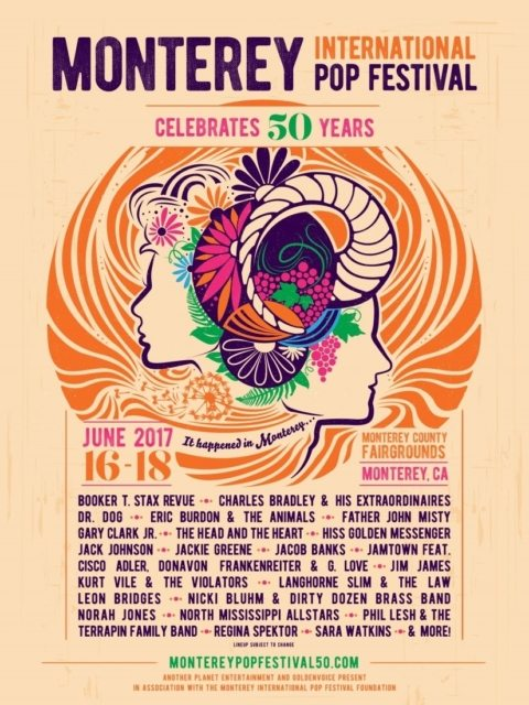 Monterey Pop Festival 2017 Poster