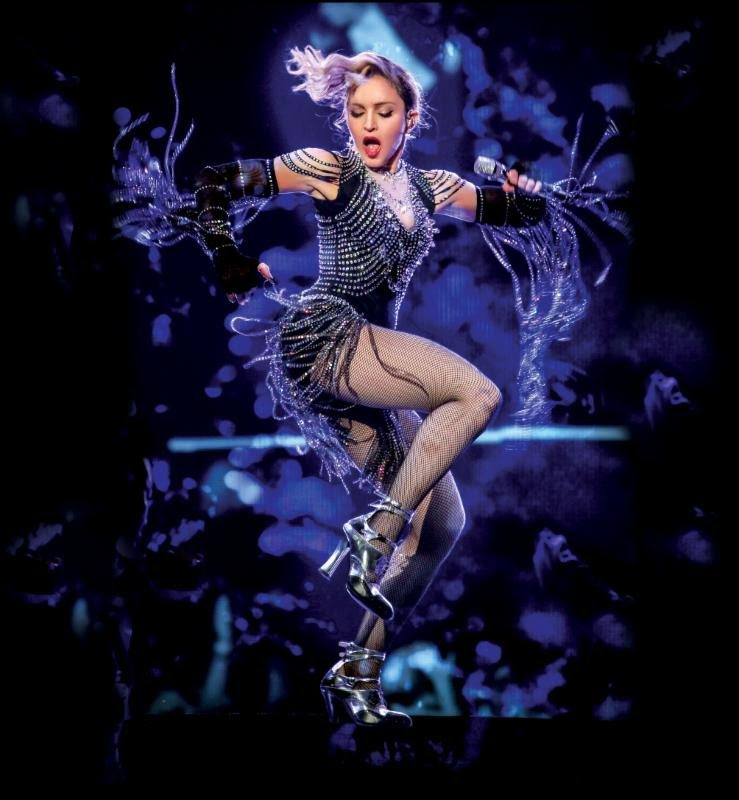 Madonna - Photo courtesy of BB Gun Press