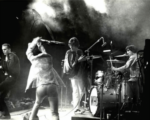 The Who by Henry Diltz, Monterey Pop Festival, 1967