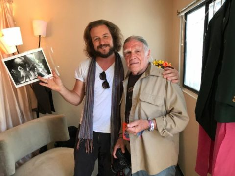 Jim James and Henry Diltz courtesy of Morrison Hotel Gallery