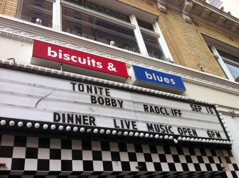 Biscuits and Blues - Photo by Bobby Hindcliffe - Music in SF