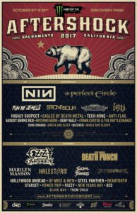 Lineup for Bay Area music festival Aftershock announced