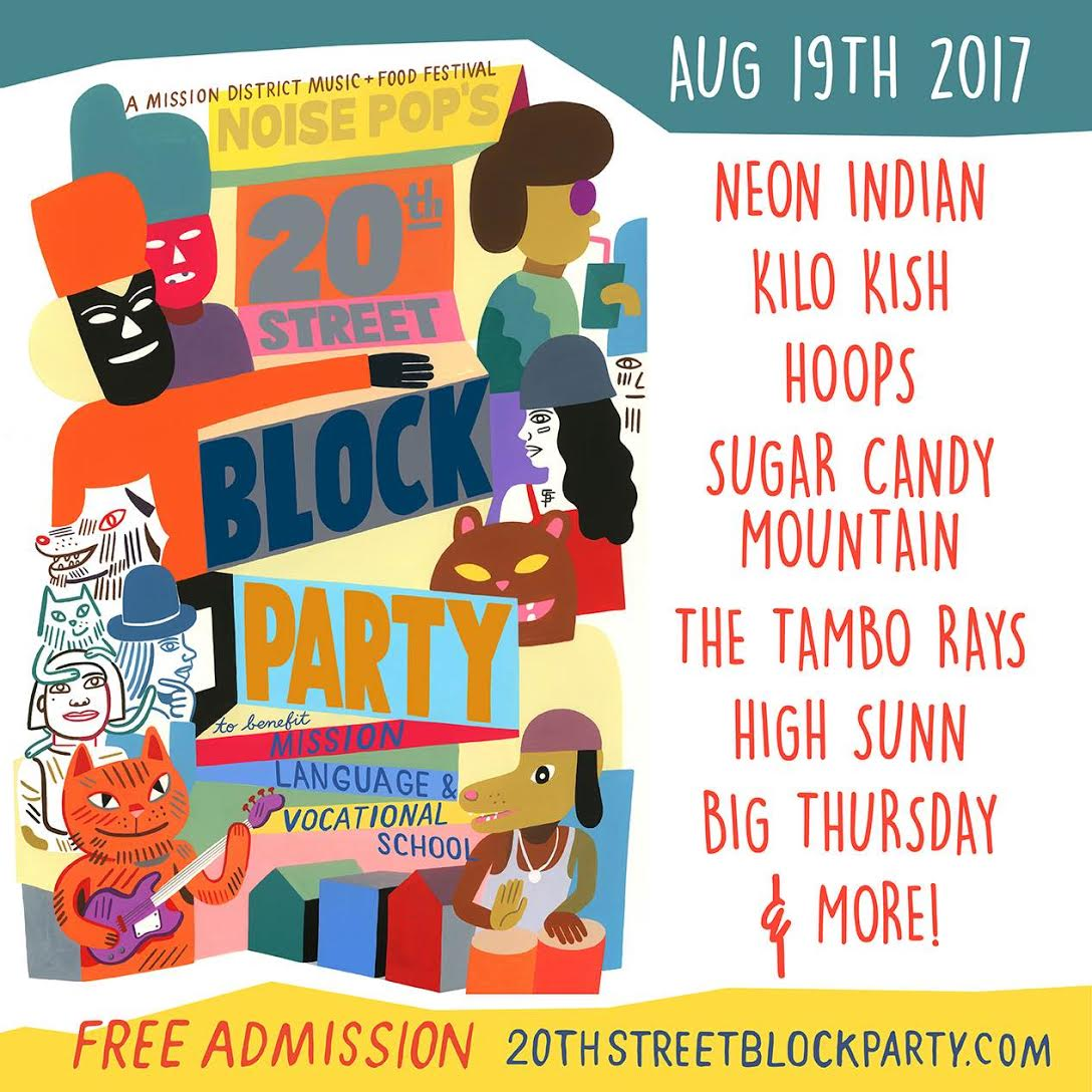 Noise Pop Block Party - Music in SF