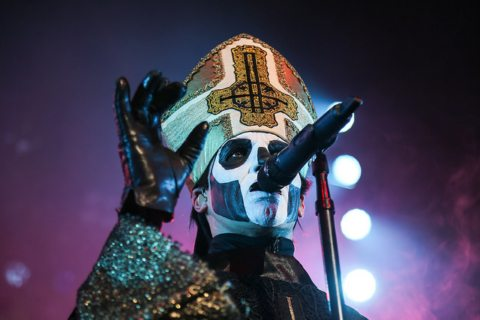 Ghost at the Warfield Photo by Louis Raphael