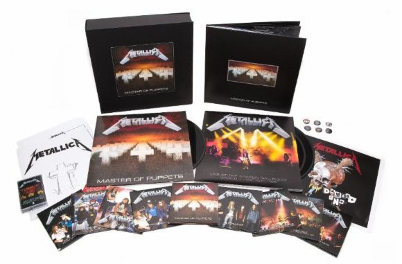 Metallica to release re-issue of Master of Puppets iconic album