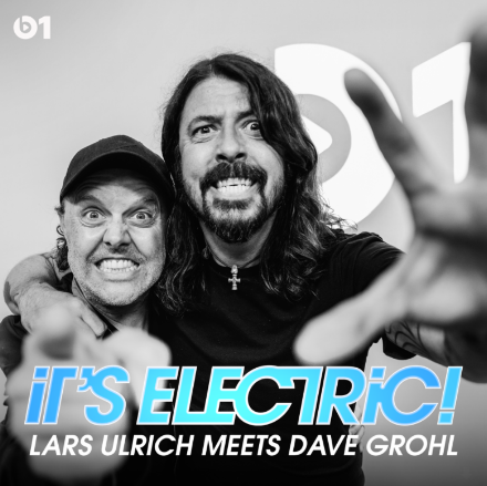 Lars Ulrich interviews Dave Grohl