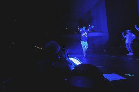 Chris Brown at the Masonic