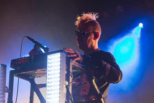 Sascha Konietzko from KMFDM