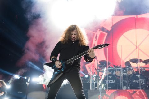 Megadeth played the Oracle Arena in Oakland