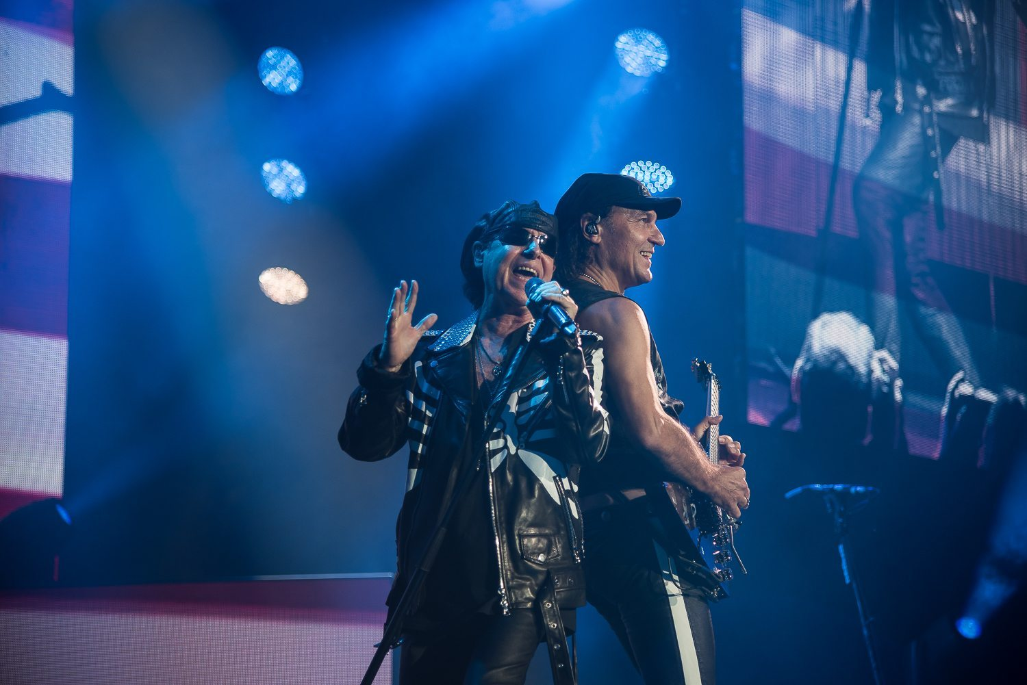 Scorpions played the Oracle Arena in Oakland