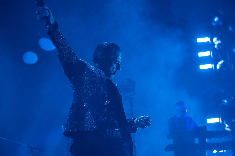 Depeche Mode played the SAP Center in San Jose