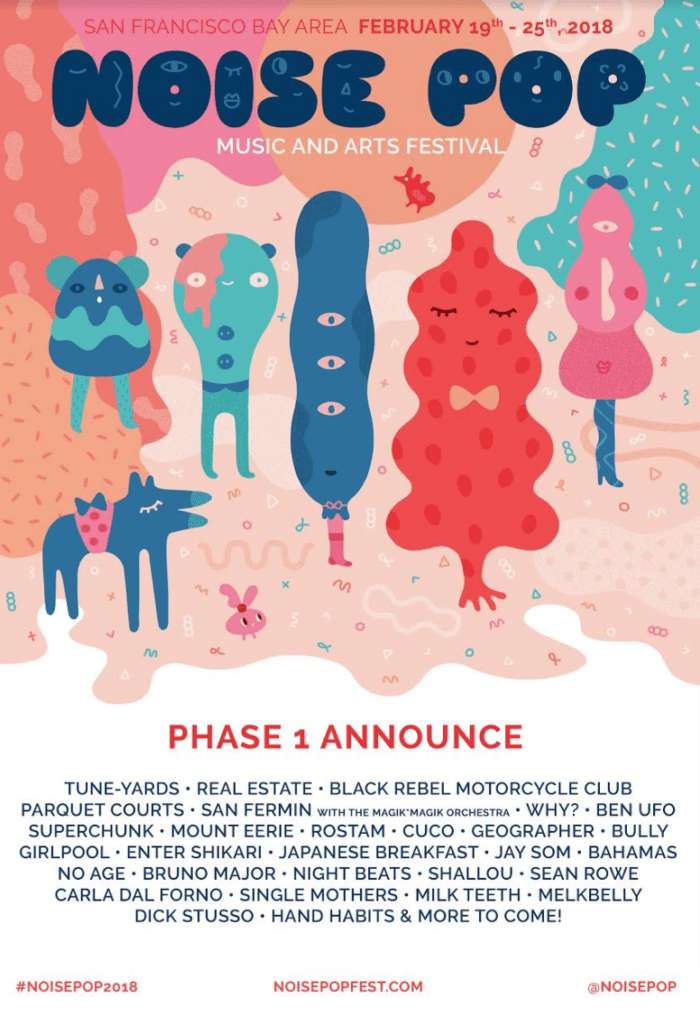 Noise Pop announces phase one of 2017 music lineup
