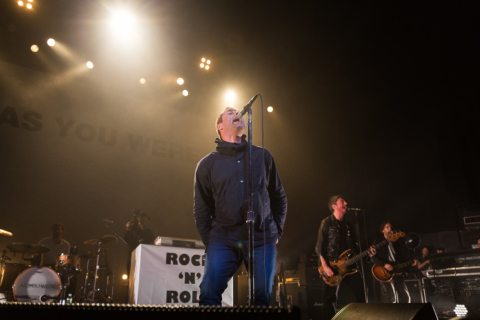 Liam Gallagher at the Warfield in San Francisco Music in SF