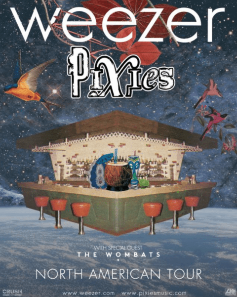 Weezer and Pixies announce co-headlining tour Music in SF