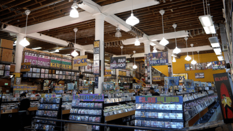 Rasputin Records Music in SF