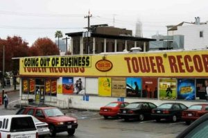 Tower Records Music in SF