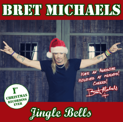 Bret Michaels to Release Re-Make of Jingle Bells Music in SF