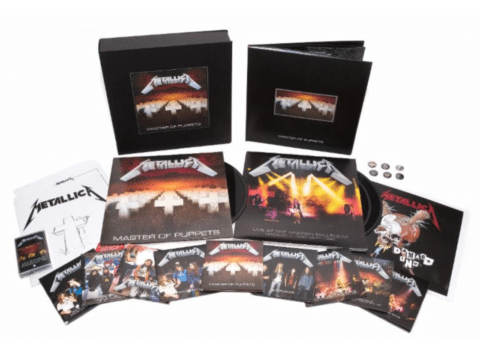 Metallica Reissues Remastered Version of Master of Puppets Music in SF