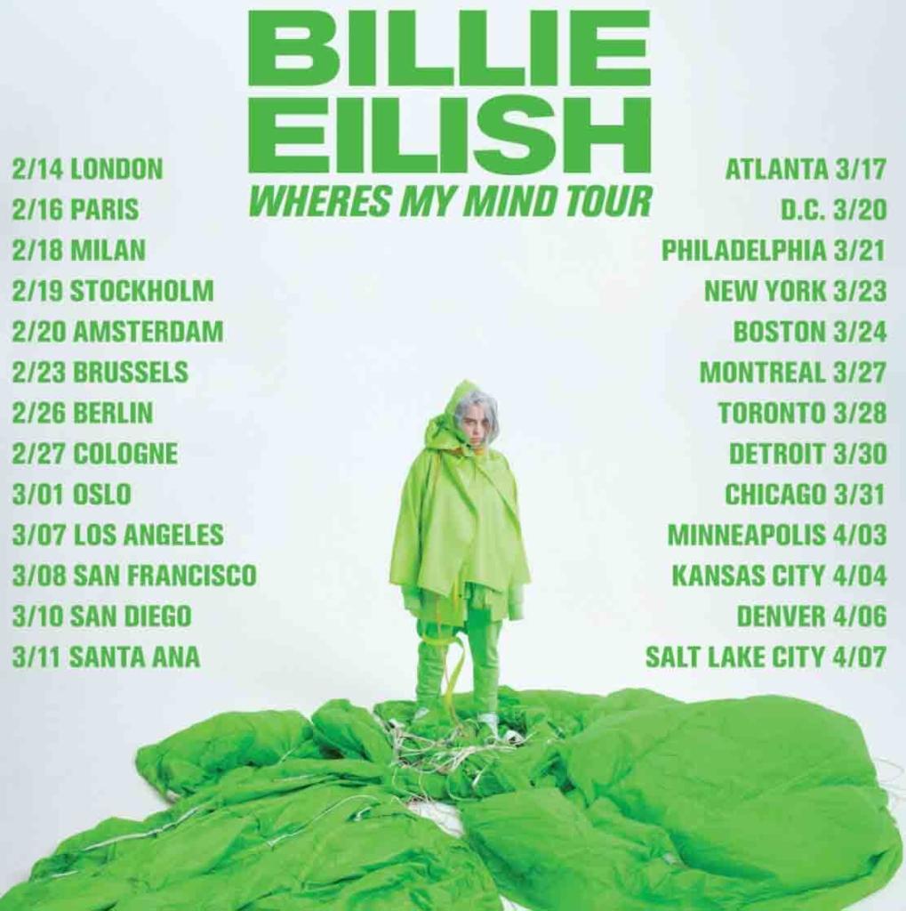Billy Eilish Music in SF