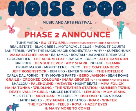 Noise Pop Music in SF