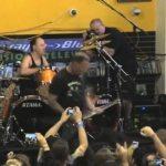 Metallica Plays Rasputin Records in Bay Area
