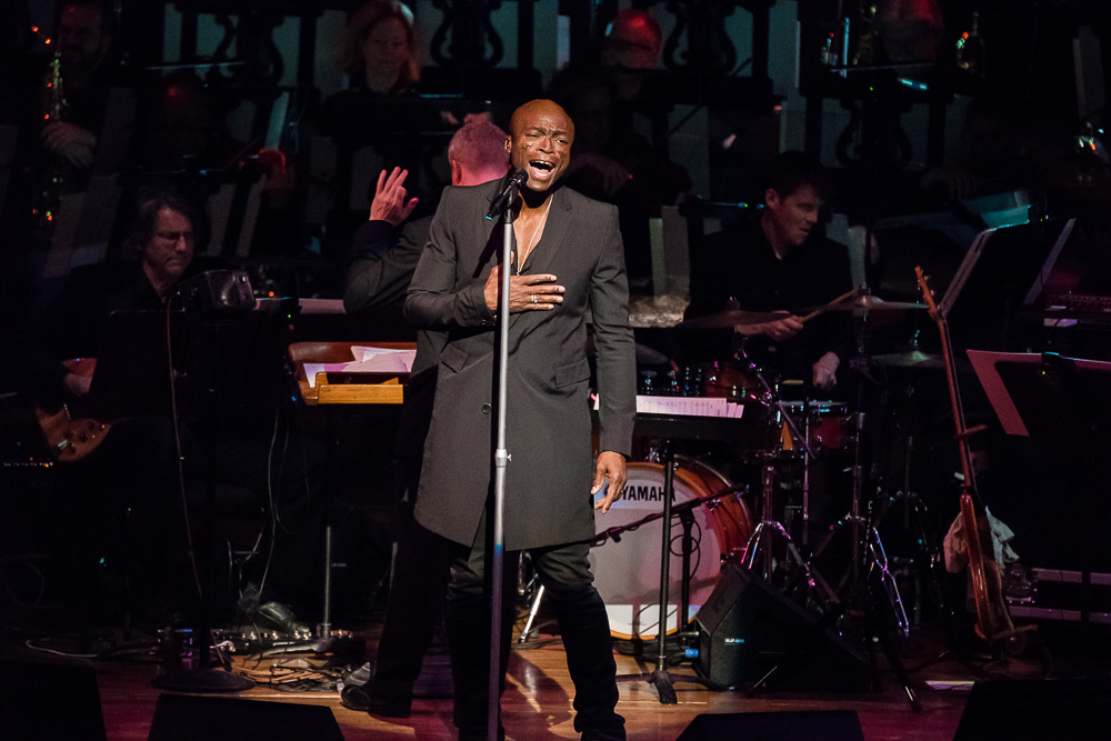 Seal Performs with the San Francisco Symphony Music in SF
