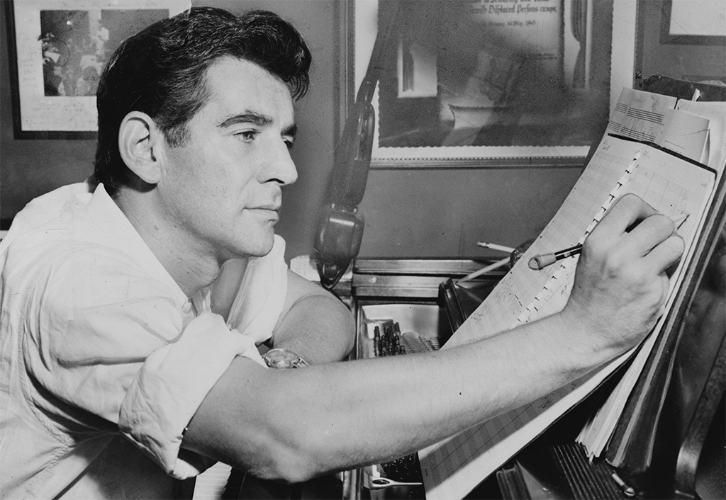 Leonard Bernstein (c) Library of Congress