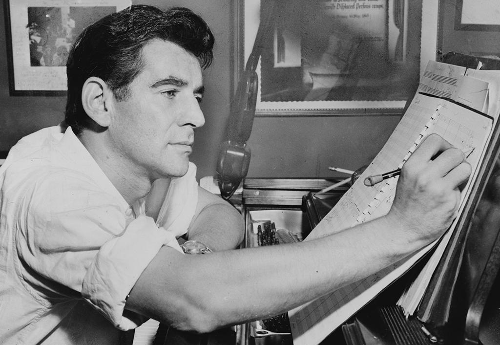 Leonard Bernstein (c) Library of Congress