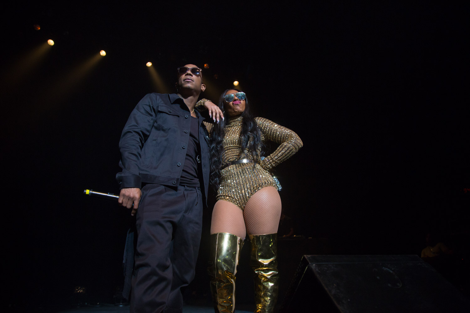 Ashanti and Ja Rule at the Warfield in San Francisco