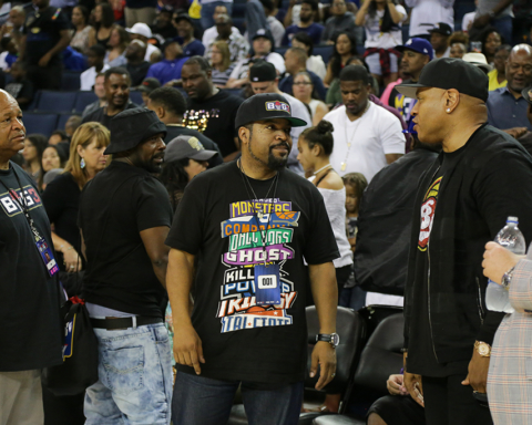 Ice Cube's Big Three Tournament in Oakland