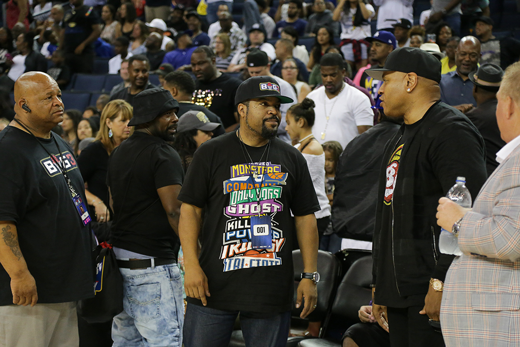 Ice Cube's Big Three Tournament in Oakland
