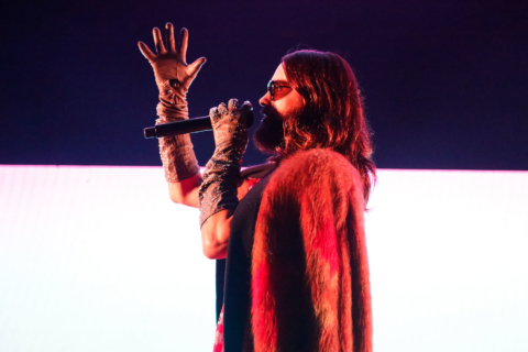 30 Seconds to Mars played the Shoreline Amphitheater on July 18, 2018