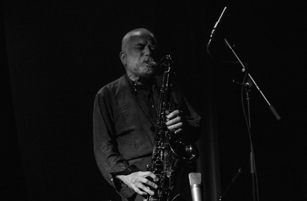 Peter Brötzmann at the Chapel in San Francisco